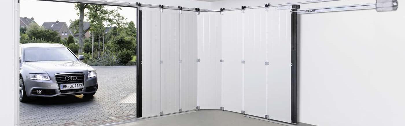 Side sliding garage doors in herts beds bucks sdm for Porte hormann